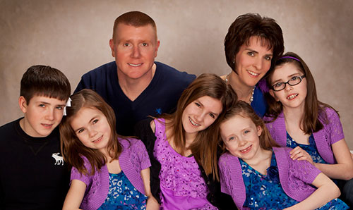 The McConnell family